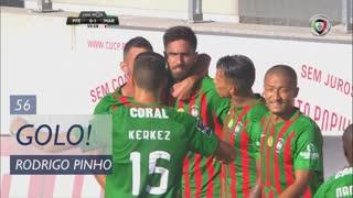 GOLO! Marítimo M., Rodrigo Pinho aos 56', FC P.Ferreira 0-1 Marítimo M.