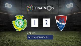 Liga NOS (21ªJ): Resumo Vitória FC 1-2 Gil Vicente FC