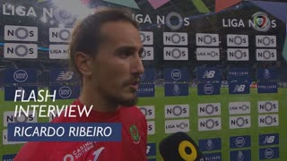 Liga (12ª): Flash Interview Ricardo Ribeiro