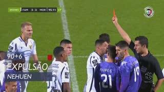 FC Famalicão, Expulsão, Nehuen aos 90'+6'