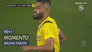 Portimonense, Jogada, Bruno Tabata aos 90'+1'