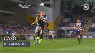 Sporting CP, Caso, Bruno Fernandes aos 19'