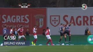 SC Braga, Caso, Bruno Viana aos 3'