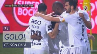 GOLO! Rio Ave FC, Gelson Dala aos 74', CD Tondela 0-1 Rio Ave FC