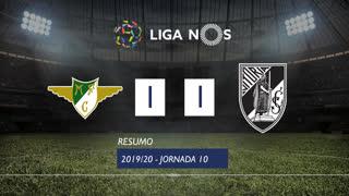Liga NOS (10ªJ): Resumo Moreirense FC 1-1 Vitória SC