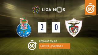 Liga NOS (6ªJ): Resumo Flash FC Porto 2-0 Santa Clara