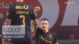 GOLO! Vitória SC, Bruno Duarte aos 35', SC Braga 1-2 Vitória SC