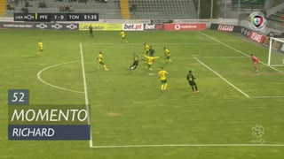 CD Tondela, Jogada, Richard aos 52'