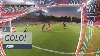 GOLO! FC Porto, Uribe aos 6', SC Braga 0-1 FC Porto