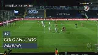 SC Braga, Golo Anulado, Paulinho aos 59'