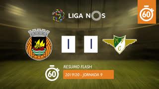 Liga NOS (9ªJ): Resumo Flash Rio Ave FC 1-1 Moreirense FC