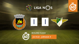 I Liga (9ªJ): Resumo Flash Rio Ave FC 1-1 Moreirense FC