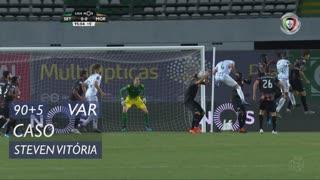 Moreirense FC, Caso, Steven Vitória aos 90'+5'