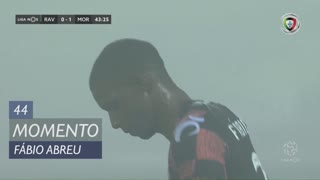Moreirense FC, Jogada, Fábio Abreu aos 44'