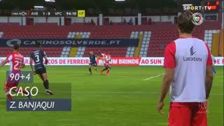 CD Aves, Caso, Zidane Banjaqui aos 90'+4'