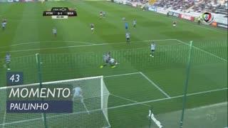 SC Braga, Jogada, Paulinho aos 43'