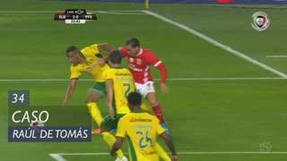 SL Benfica, Caso, Raúl de Tomás aos 34'