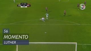 Moreirense FC, Jogada, Luther aos 56'