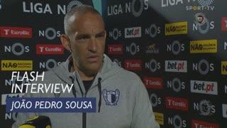 João Pedro Sousa quer a equipa focada até ao fim