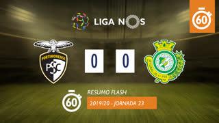 Liga NOS (23ªJ): Resumo Flash Portimonense 0-0 Vitória FC