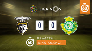 I Liga (23ªJ): Resumo Flash Portimonense 0-0 Vitória FC