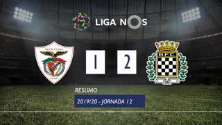 Liga NOS (12ªJ): Resumo Santa Clara 1-2 Boavista FC
