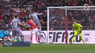 SL Benfica, Caso, Pizzi aos 43'