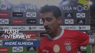 Liga (16ª): Flash Interview André Almeida
