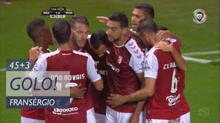 GOLO! SC Braga, Fransérgio aos 45'+3', SC Braga 1-0 Moreirense FC