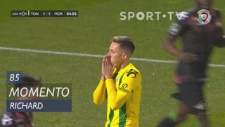 CD Tondela, Jogada, Richard aos 85'