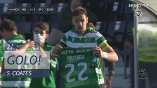 GOLO! Sporting CP, S. Coates aos 21', Belenenses SAD 1-1 Sporting CP
