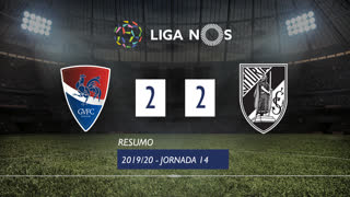 Liga NOS (14ªJ): Resumo Gil Vicente FC 2-2 Vitória SC