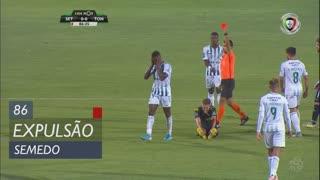 Vitória FC, Expulsão, Semedo aos 86'