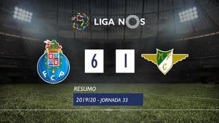 Liga NOS (33ªJ): Resumo FC Porto 6-1 Moreirense FC