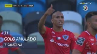 Santa Clara, Golo Anulado, Thiago Santana aos 31'