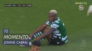 Sporting CP, Jogada, Jovane Cabral aos 72'