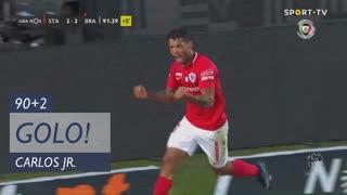 GOLO! Santa Clara, Carlos Jr. aos 90'+2', Santa Clara 3-2 SC Braga