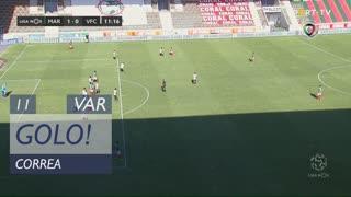 GOLO! Marítimo M., Correa aos 11', Marítimo M. 1-0 Vitória FC