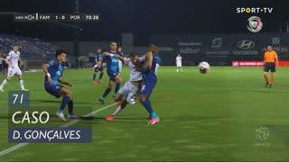 FC Famalicão, Caso, Diogo Gonçalves aos 71'