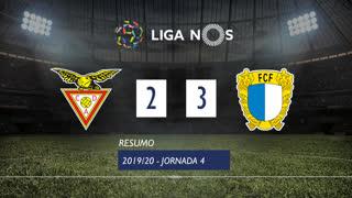 Liga NOS (4ªJ): Resumo CD Aves 2-3 FC Famalicão