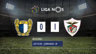 Liga NOS (18ªJ): Resumo FC Famalicão 0-1 Santa Clara