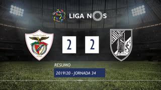 Liga NOS (34ªJ): Resumo Santa Clara 2-2 Vitória SC