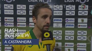 Liga (18ª): Flash Interview Adriano Castanheira