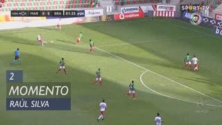 SC Braga, Jogada, Raúl Silva aos 2'