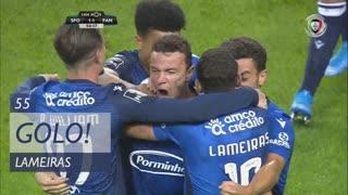 GOLO! FC Famalicão, Lameiras aos 55', Sporting CP 1-1 FC Famalicão