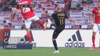 SL Benfica, Caso, J. Weigl aos 31'