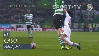 FC Porto, Caso, Nakajima aos 61'