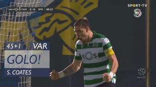 GOLO! Sporting CP, S. Coates aos 45'+1', FC Famalicão 2-1 Sporting CP