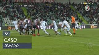 Vitória FC, Caso, Semedo aos 78'