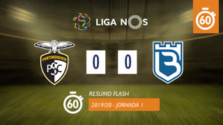 I Liga (1ªJ): Resumo Flash Portimonense 0-0 Belenenses SAD